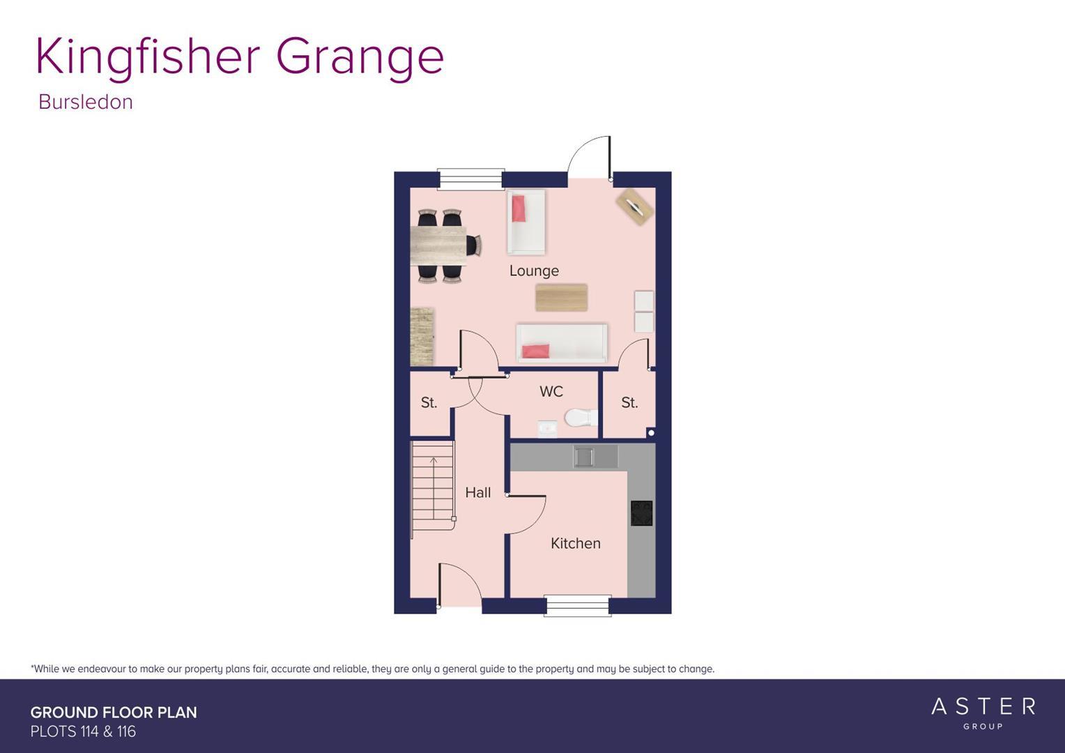 Kingfisher Grange, Bursledon_Plots 114 & 116_GF_F.